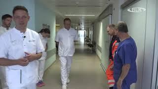Ein Tag mit Dr. med. Hellweger Chefarzt Unfallchirurgie Orthopädie Asklepios Teil 1 (ohne Musik)