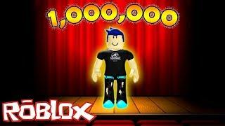I WON 1 million FOLLOWERS and I GOT FAMOUS?? (Roblox Fame Simulator)