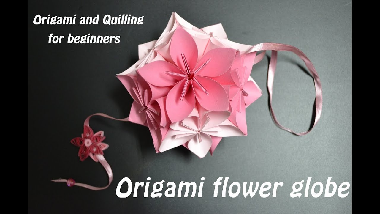 How To Make An Origami Flower Ball Wedding Party Decorations