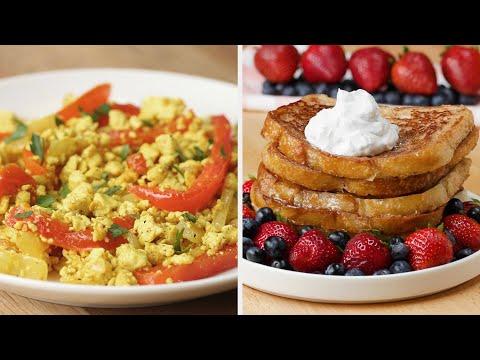 7 Days Of Vegan Breakfasts