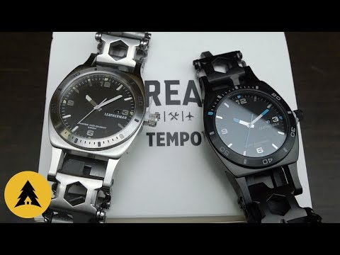 Мультитул Часы Leatherman Tread Tempo / Black