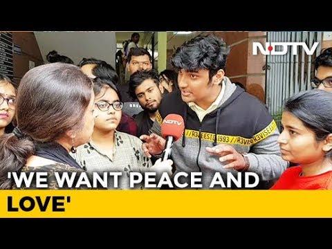 """Don't Need Hindu Rashtra, We Need A Safe, Secure Rashtra"": Bengaluru Students Demand Peace"
