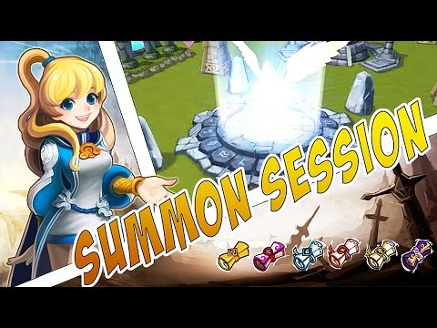 Summoners War - Summon session - Goldenpair