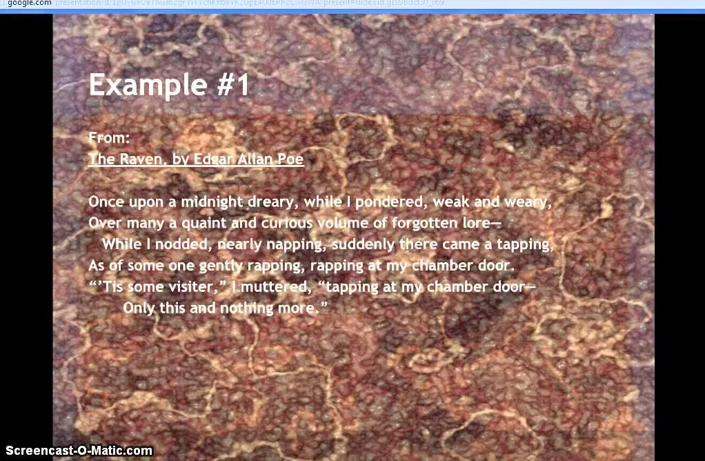 Examples Of Onomatopoeia In Poetry Youtube