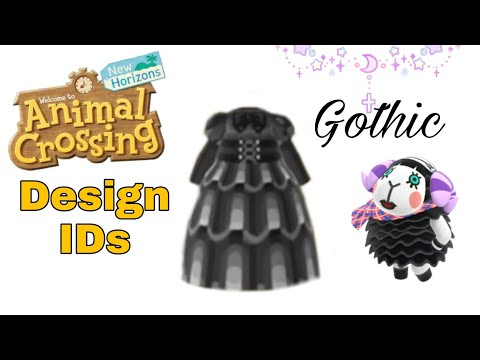 aesthetic animal crossing qr codes clothes goth