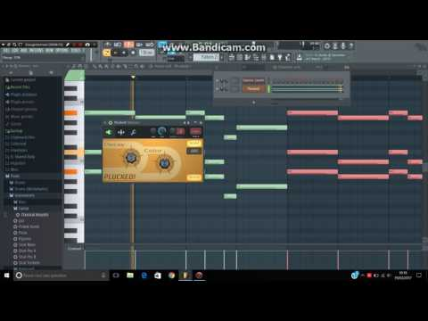 How to make MARTIN GARRIX CHORDS on FLSTUDIO (poison with native plug in)