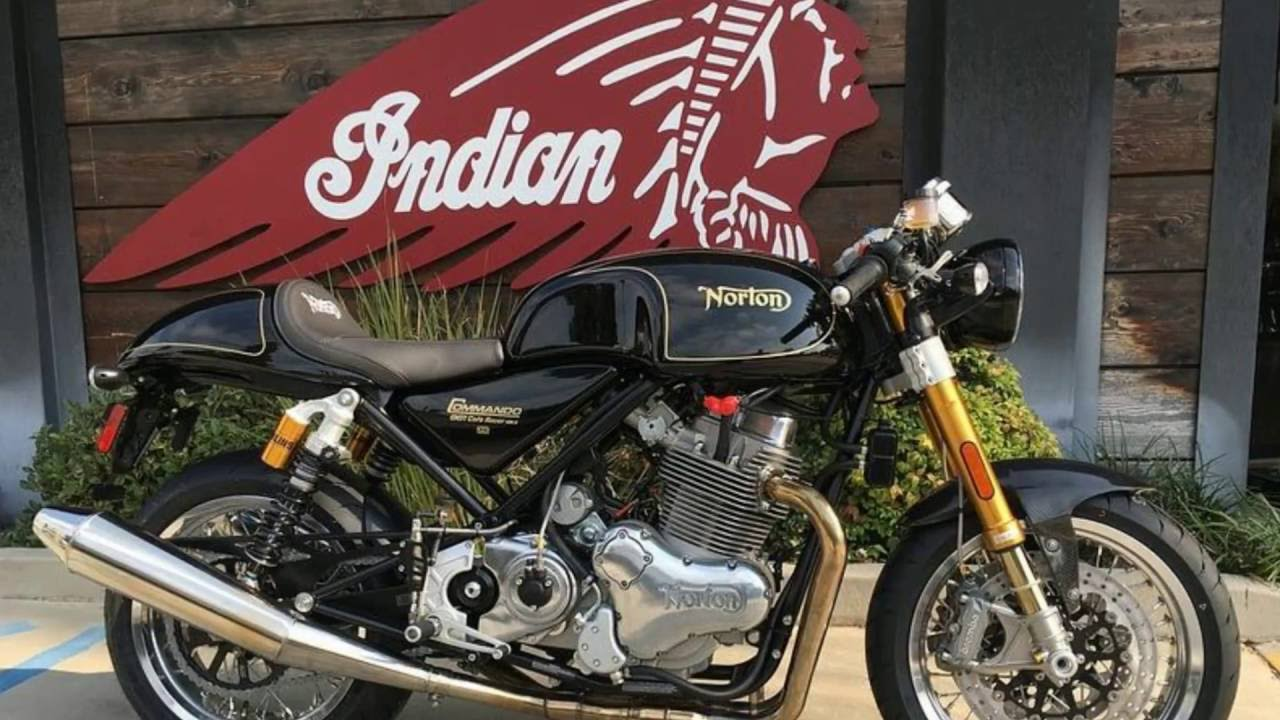 New 2016 Norton® Commando 961 Cafe Racer Motorcycle For Sale in Orange County near Los Angeles, CA!