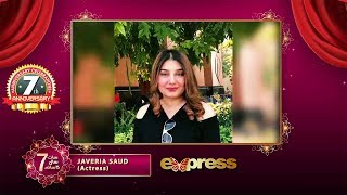 Gambar cover Express TV   7th Anniversary   Message from Javeria Saud