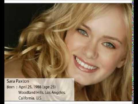 Actress Sara Paxton movies list