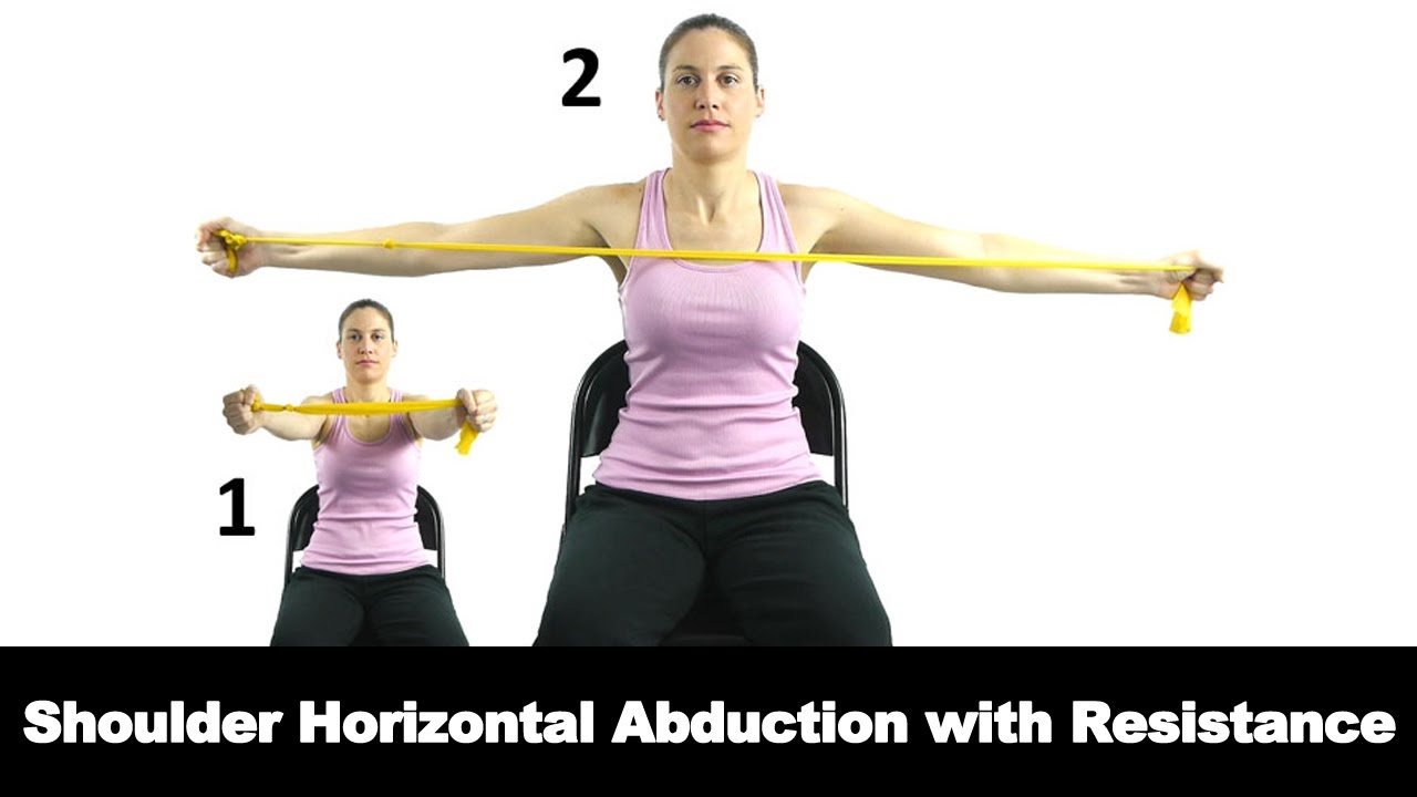 Shoulder Horizontal Abduction with Resistance - Ask Doctor ...