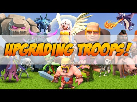 What Troops to Upgrade First in Clash of Clans!? + Troop Upgrade Order!