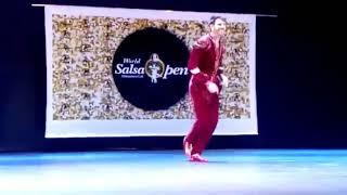 Rob Sabroson Cali Salsa and Finalist at the World Salsa Open