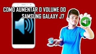 Como Aumentar o Volume Do Samsung Galaxy J7