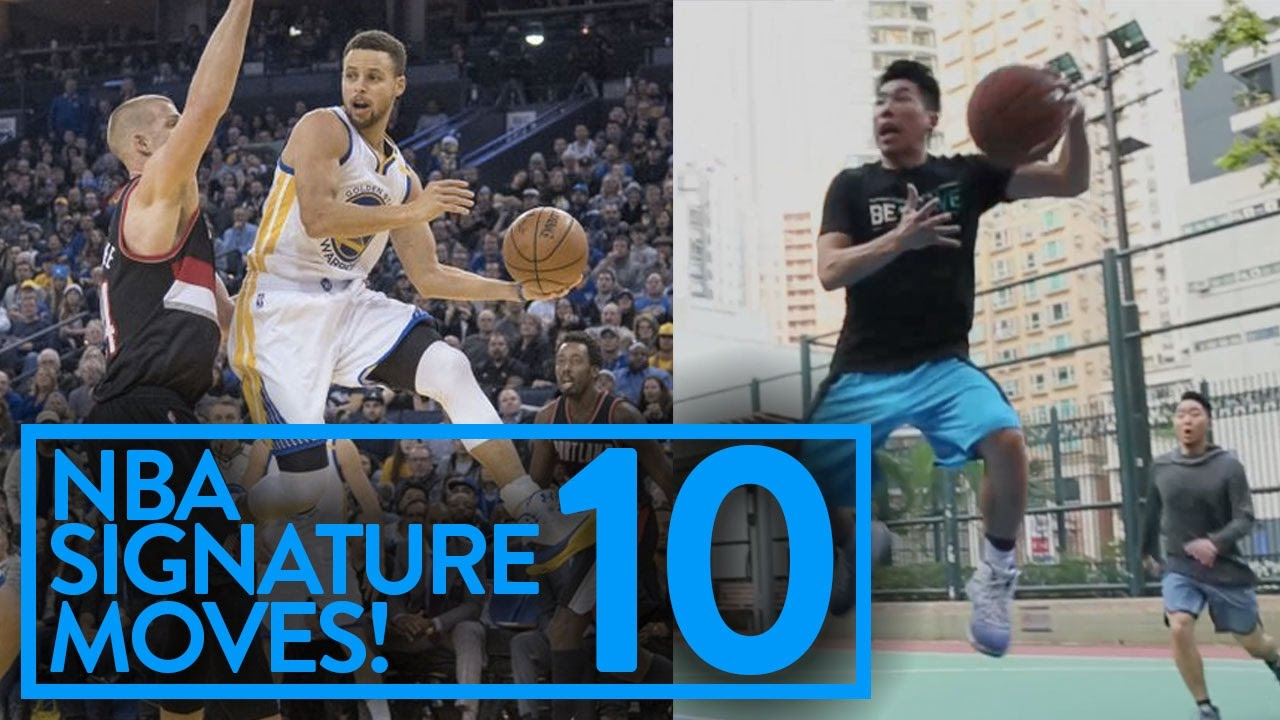 bf871062a3af NBA SIGNATURE MOVES 10  CRAZY GAME WINNERS AND CROSSOVERS - YouTube