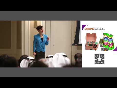 EMAAR Dubai Energy Escalators - Eating for Energy