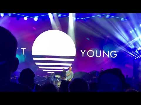 Brett Young - Mercy - New Years Eve Music City Midnight in Nashville, TN (Live)