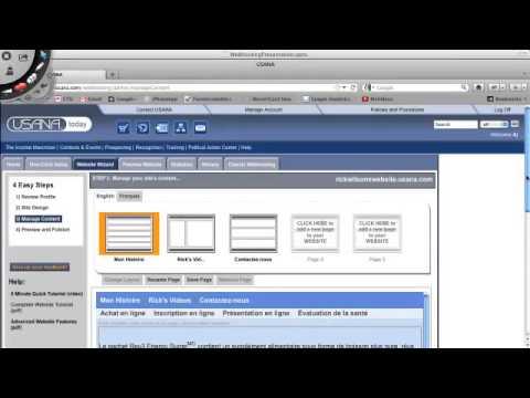 USANA WebHosting Training