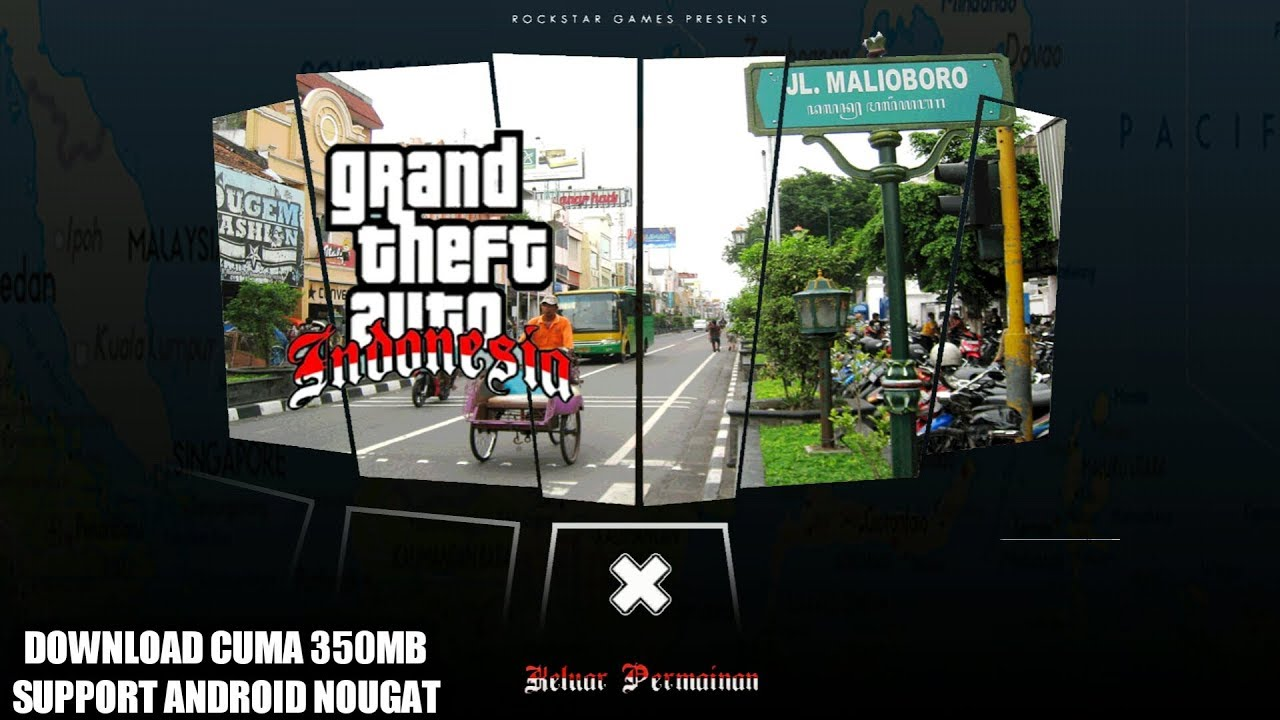 Cara Install Game Grand Theft Auto San Andreas Lite ...