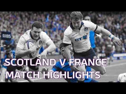 Highlights of Scotland's 29 - 18 victory over France.