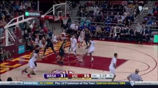 Men's Basketball: USC 74, Washington 58 - Highlights 3/4/17