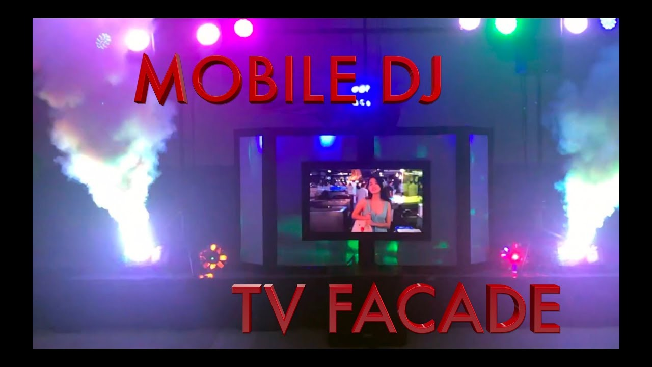 Mobile Tv Facade Build Diy Tutorial Youtube