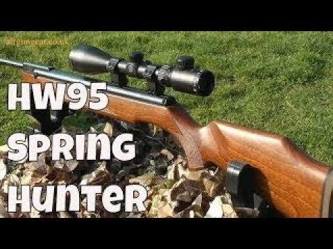 REVIEW: Weihrauch HW95 Air Rifle - Beeman R9 - Spring Hunting Air Gun