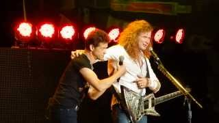 "Megadeth ""Phantom Lord"" with Jason Newsted Toronto August 11, 2013 Molson Amphitheatre"