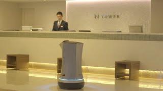品川プリンスホテル Nタワー 自律走行型デリバリーロボット「Relay」