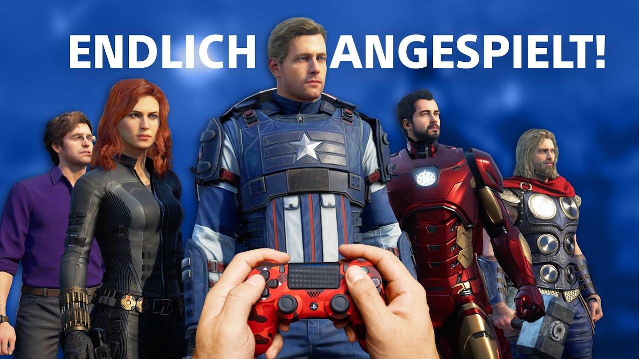 So spielt sich Marvel's Avengers