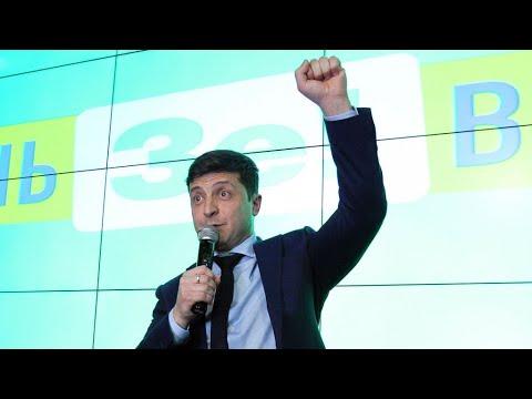 Ucrania: Zelenski y Poroshenko, disputarán la segunda vuelta de las presidenciales