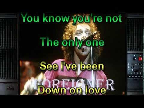 Down on love Karaoke Style