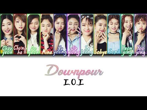 I.O.I (아이오아이) - Downpour (소나기) (Letra {Hangul/Romanization/PT-BR})