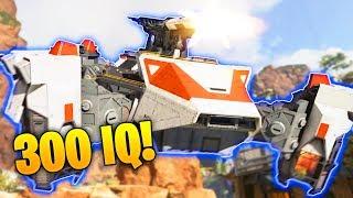 INSANE *300 IQ* SUPPLY SHIP TRICK..!! - NEW Apex Legends Funny Epic Moments #77