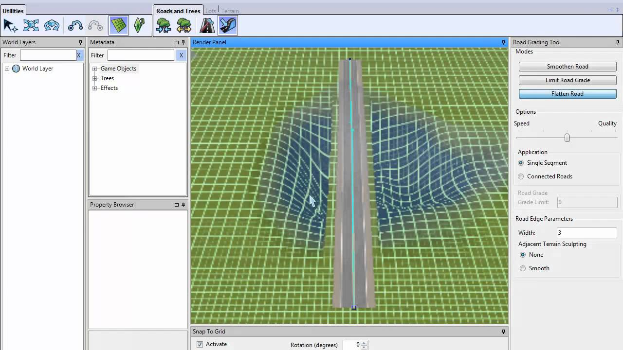Sims 3 Create a World How To Make Bridges