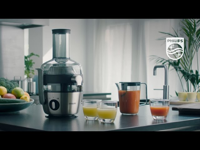 Philips Centrifugal Juicer with FiberBoost technology YouTube