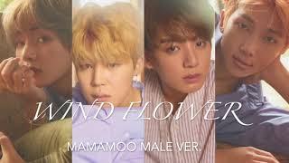 Gambar cover ♂ Male Version | MAMAMOO 마마무 - Wind Flower [HD AUDIO]
