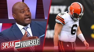 It's a wrap for Baker Mayfield after blowout loss to Steelers - Wiley | NFL | SPEAK FOR YOURSELF