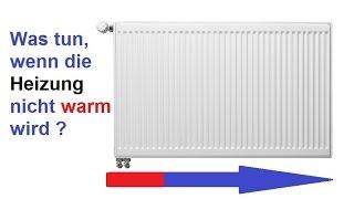 Heizkörper wird nicht warm - Zu 70% ist das die Lösung! Heizungsventil klemmt / Heizung reparieren