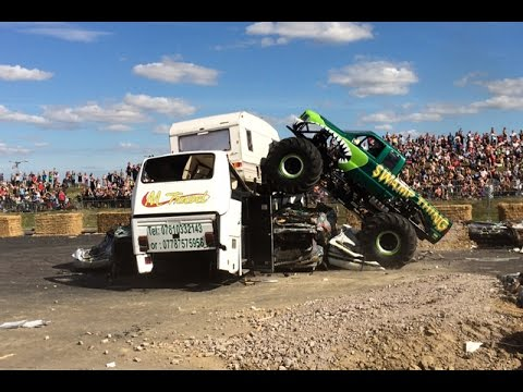 Uk Monster Truck Nationals Highlights Preview Video