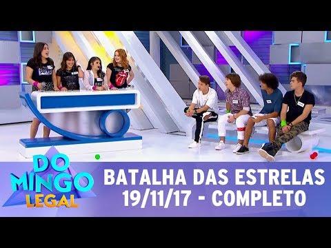 Batalha das Estrelas - Completo | Domingo Legal (19/11/17)