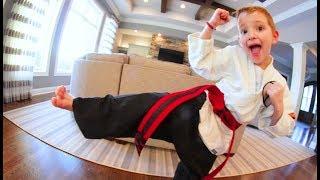 KARATE BELT TEST TIME! / Path To Black Belt