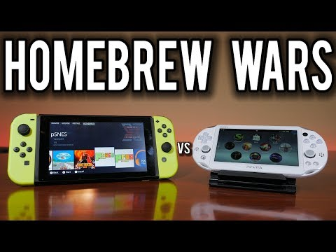 Homebrew Wars - Nintendo Switch vs  PlayStation Vita | MVG