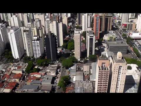 SAO PAULO BRAZIL /  AMAZING APROACH & LANDING OVER TALL BUILDINGS / ALMOST TOUCHING THEM / CGH AIRPO