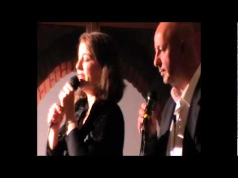 """parole parole"" Mina e Alberto Lupo:  karaoke con Carmen & Matteo"