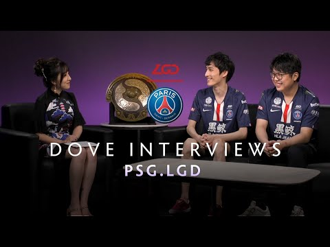 PSG.LGD Interview With Dove - The International 2019