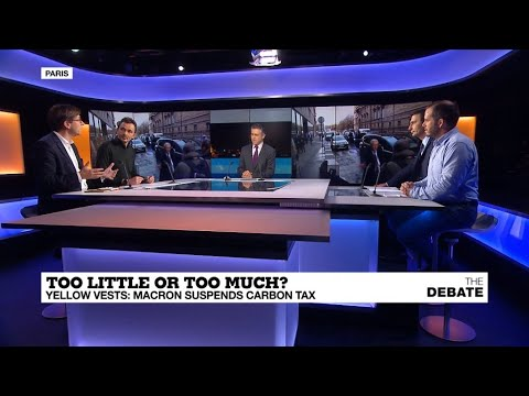Too little or too much? Yellow vests: Macron suspends carbon tax