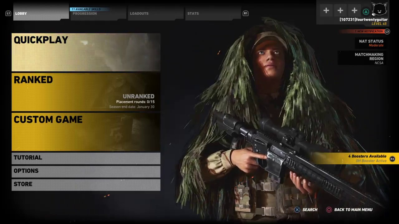 Ghost recon pvp matchmaking