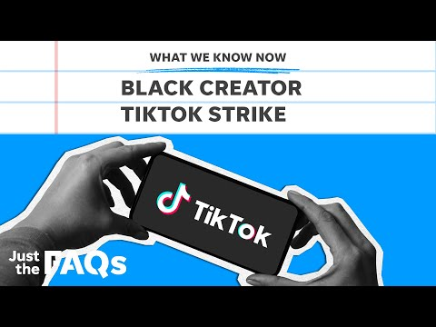 Here's why Black TikTok creators are on strike and demanding recognition | Just the FAQs