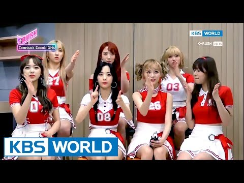 WJSN Is Back With 'HAPPY'! [KBS World Idol Show K-RUSH / 2017.06.16]