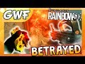 BETRAYED BY MY FRIEND - Games with Friends (Rainbow Six Siege)